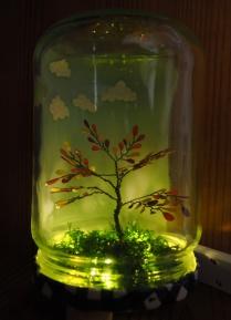 Lit Autumn Tree 2